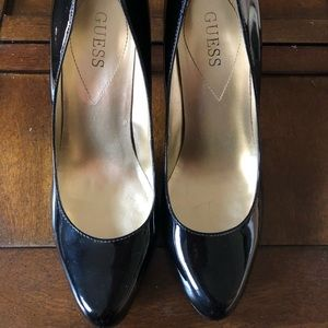 GUESS Patent Leather Heels